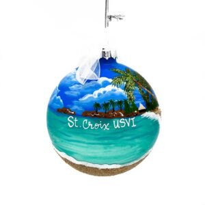 St. Croix Beach Ornament