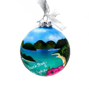 St. John Trunk Bay Ornament