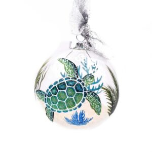 St. John Turtle Indigo Ornament