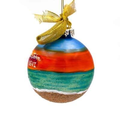 St. John Sunset Beach Ornament