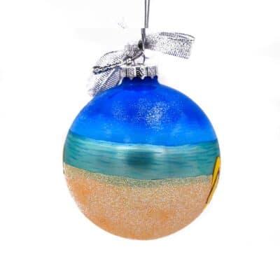 Rainbow Flip Flop Ornament