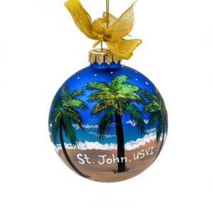 St. John Royal Night Christmas Ornament