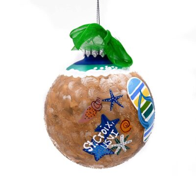 St. Croix Hit the Beach Christmas Ornament