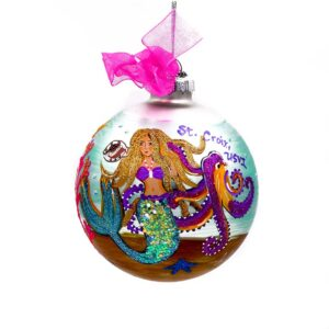 St. Croix Mermaid Under the Sea Christmas Ornament