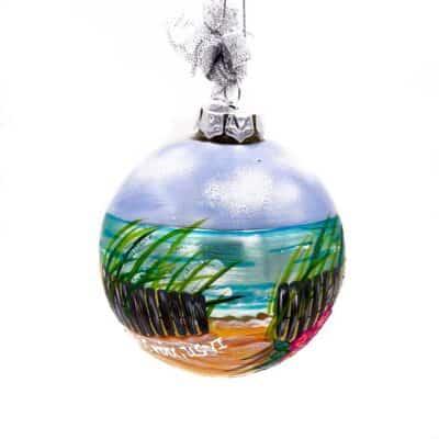 St. Croix Beach Front Christmas Ornament