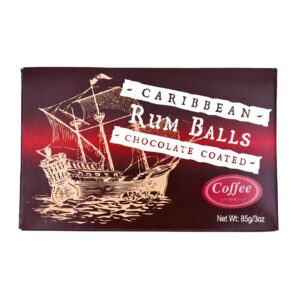 8 piece Rum Balls Coffee/Chocolate