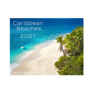 2021 Caribbean Beaches Calendar