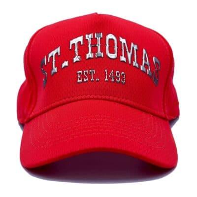 St. Thomas Tech Coral Hat