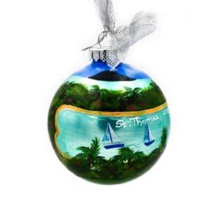 St. Thomas Beach Ornament