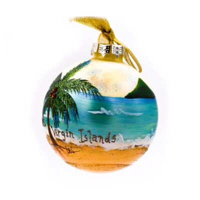 St. Thomas Coconut Palm Ornament
