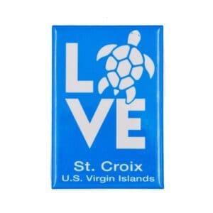 St. Croix Love Magnet