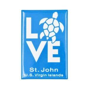 St. John Love Magnet