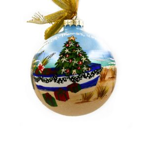 St. Thomas Christmas Dinghy Ornament