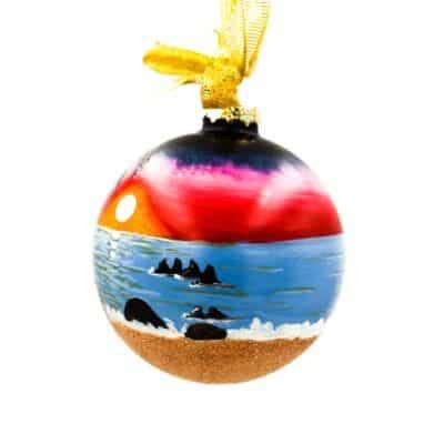 St. John Wild Sunset Ornament