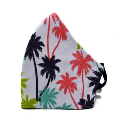 Colorful Palms Fashion Face Mask