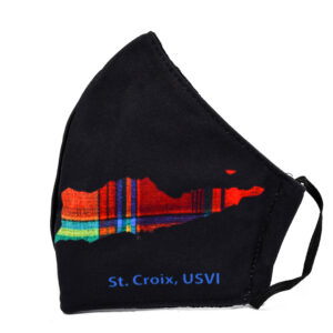 St. Croix Madras Face Mask