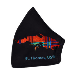 St. Thomas Madras Face Mask