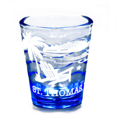 St. Thomas Beach Chair Shot Glass