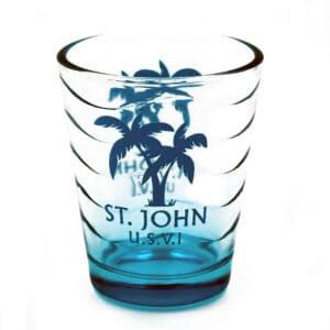 St. John Palm Shot Glass