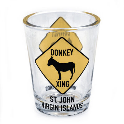 St. John Donkey Shot Glass